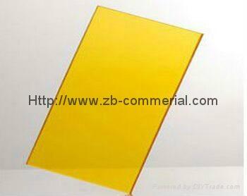 Translucent Cast Acrylic Plate  3