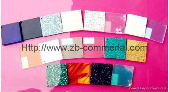 Translucent Cast Acrylic Plate  4