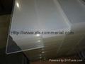 acrylic sheet/plexiglass transparent plastic glass sheet 1