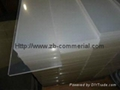 acrylic sheet/plexiglass transparent plastic glass sheet