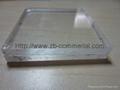 acrylic sheet/plexiglass transparent plastic glass sheet 3