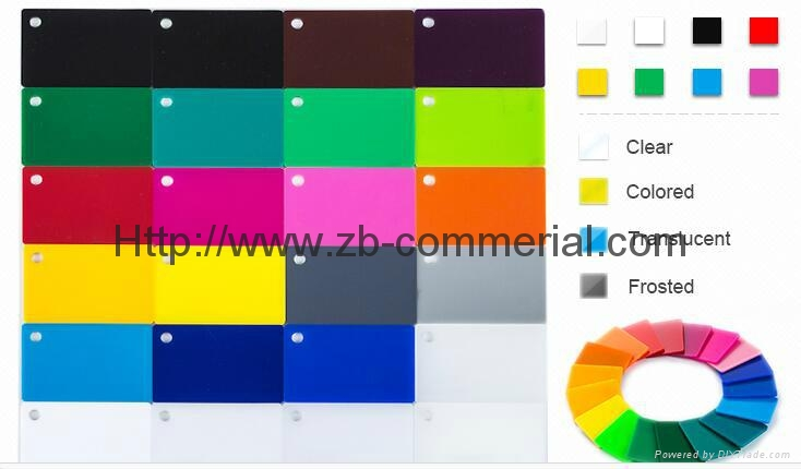 Plexiglass Sheet Perspex Sheet Acrylic Sheet Acrylic Plate 4