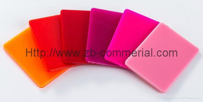 Acrylic Plastic Plate Cast Acrylic Sheet 4