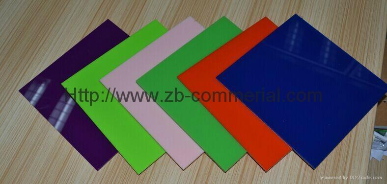 China Wholesale Color Cast Acrylic Sheet 2