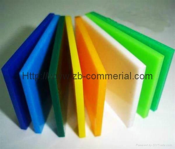 China Wholesale Color Cast Acrylic Sheet 1