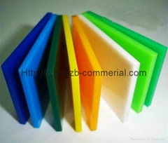 China Wholesale Color Cast Acrylic Sheet