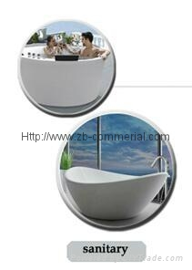 Acrylic Plate for Sanitaryware/Furniture/Bathtub 3