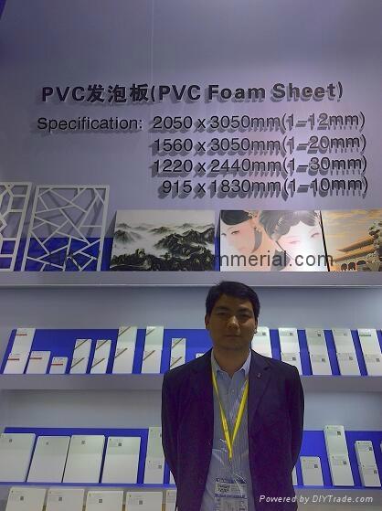 PVC Foam Sheet (free info printing on PE film) 2