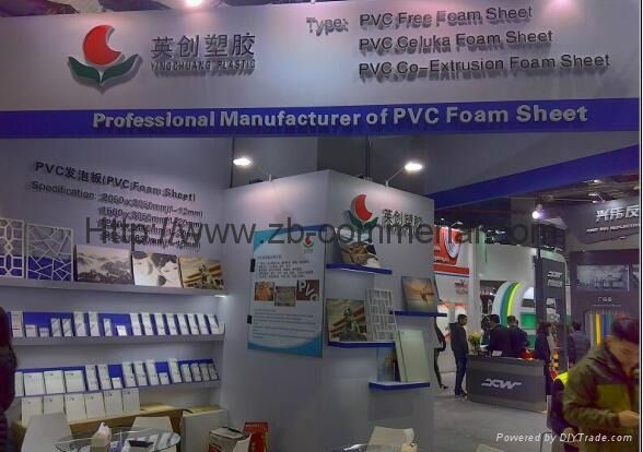 PVC Foam Board Expanded PVC Sign Material (with non-glue PE film) 5