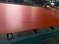 RED PVC Foam Board Foamed PVC Board 2