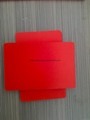 RED PVC Foam Board Foamed PVC Board