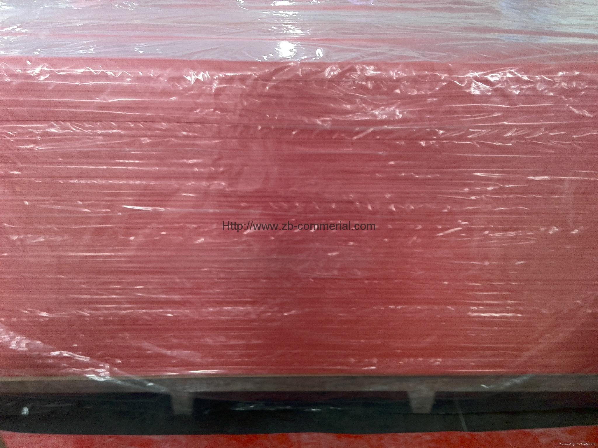 RED PVC Foam Board Foamed PVC Board 3