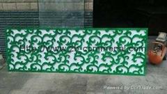 PVC FOAM BOARD Decoration Material Enggraving