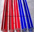 Colored Acrylic Rod Clear Plexiglass Rod PMMA Rod 5