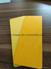 Yellow PVC Foam Sheets f