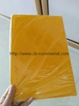 Yellow PVC Foam Sheets for Advertsing/Printing/Engraving/Laminating Film 5