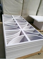 PVC foam sheet used for