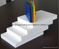 PVC foam sheet used for indoor/outdoor decoration