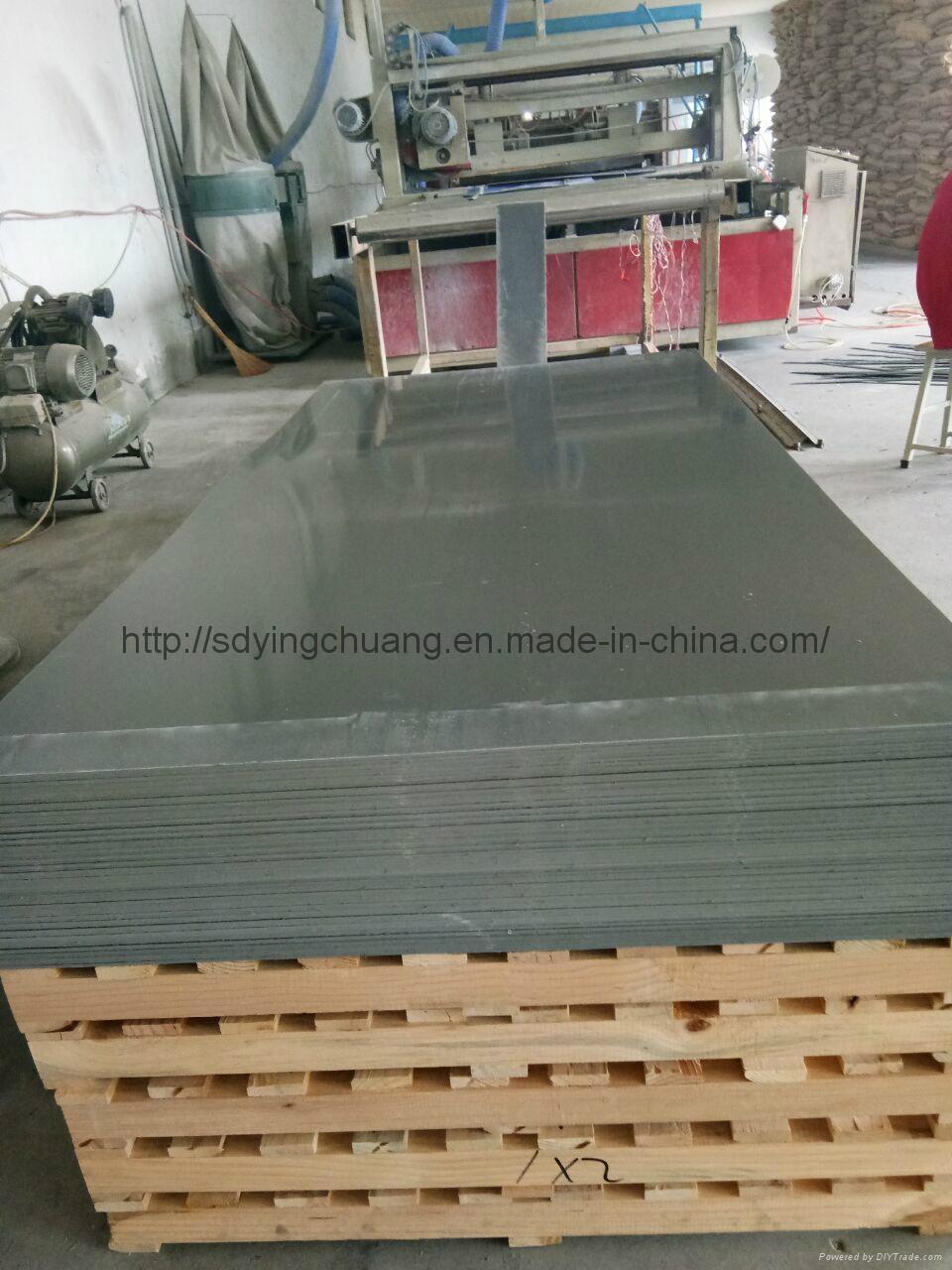 Grey PVC Rigid Board 1