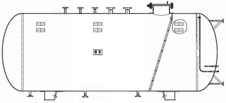 缓冲水箱结构图