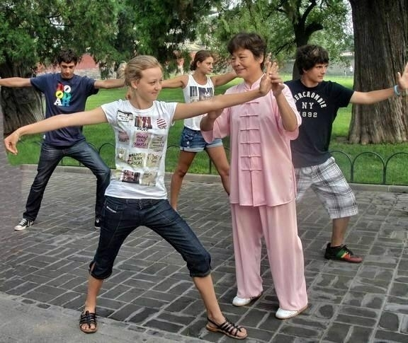 Learn Tai Chi for boys