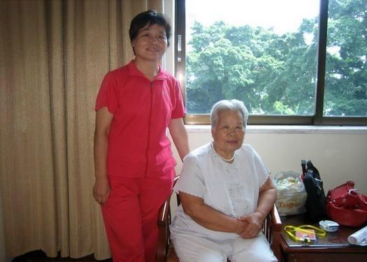 与杨振基夫人前辈