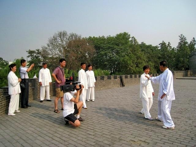 To the teacher learning Taijiquan