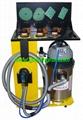 Carbon fiber dust suction grinding sander