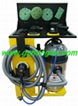 Environmental protection dust removing spray painting grinding equipment