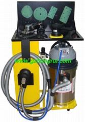 Hand-held sand light machine dust-free grinding equipment