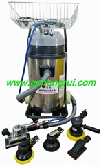 Dustless grinding machine