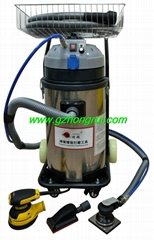 Electric dust free dry grinding machine for putty