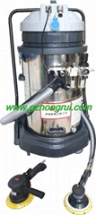 Pneumatic sander polishing dust removal equipment