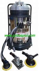 Automatic dust removal and polishing