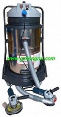 电动磨光机打磨切割除尘设备