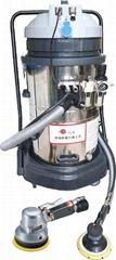 Pneumatic sander polishing dust removal equipment