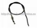 Forklift Parts TD27 Hand Brake Cable For