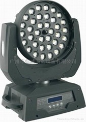 带调焦LED摇头染色灯