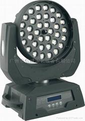 帶調焦LED搖頭染色燈
