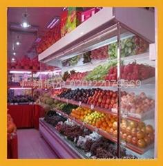 超市水果冷藏風幕櫃