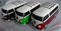mini bus car speaker with USB TF card reader