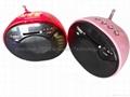 LED digital MP3 mini speaker with FM radio