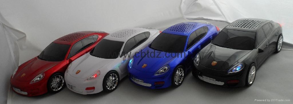 熱銷汽車車模音箱 2