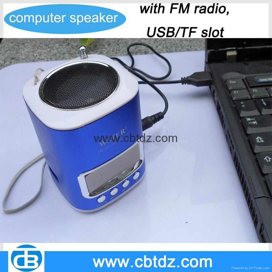 2015 newest portable mini computer speaker ms 052 cbt. Black Bedroom Furniture Sets. Home Design Ideas