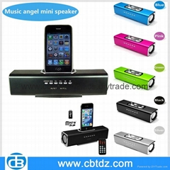 music angel speaker for iphone ipod