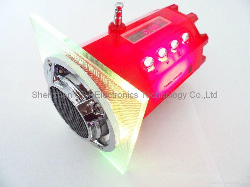 LED迷你便携高保真音响 3