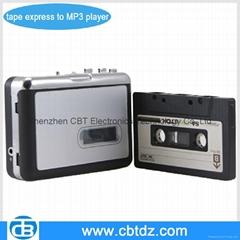 USB cassette player digital converter to MP3 & CD