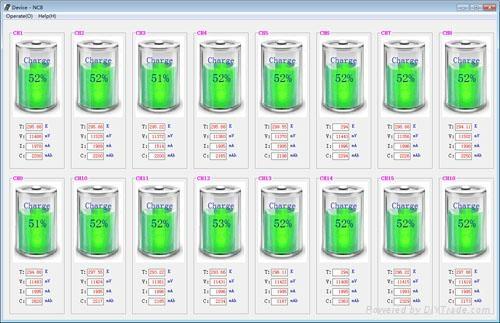 16 通道笔记本电池测试仪器 4