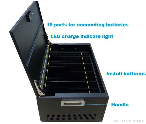 16 通道笔记本电池外置充电器 多通道 3
