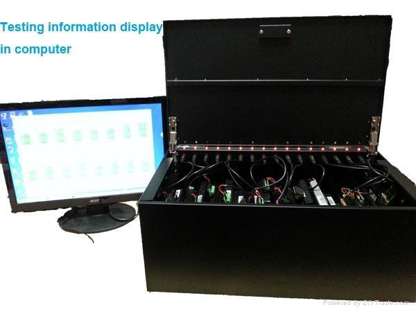 16 通道笔记本电池测试仪器 1